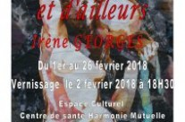 Exposition personnelle au Centre Mutualiste – THIERS – février 2018