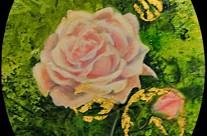 Rose rose du château