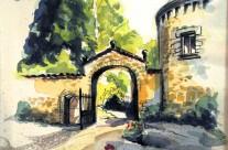 Portail du Château de Vaulx